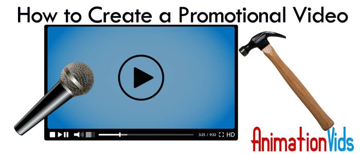 How to Create a Promotional Video